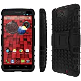Motorola Droid Ultra / Droid Maxx Phone Case, MPERO IMPACT SR Series Kickstand Case for Motorola DROID MAXX / DROID ULTRA XT1080 XT1080M - Black