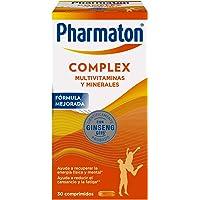 Pharmaton Complex Multivitamínico con Ginseng 30 comprimidos compactos Energía…