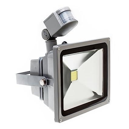 PMS® 10W20W/30W/50W Blanco Cálido LED Foco proyector Luz, Foco proyector