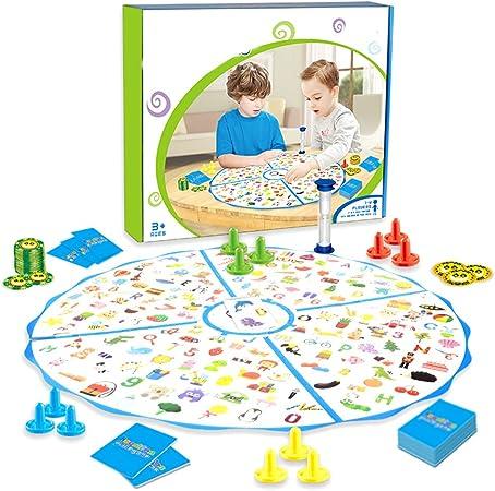Daxoon Brain Power Battle Game Niños Juegos de Mesa Puzzle para niños Niñas Juguetes de educación temprana: Amazon.es: Hogar