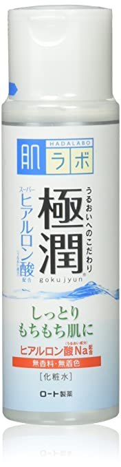 Rohto Hadalabo Gokujyn Hyaluronic Acid Lotion