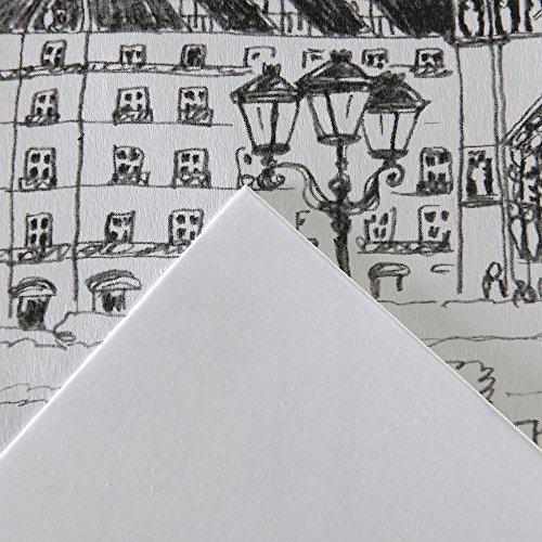 Bloc papel dibujo 20 hojas A3-29.7 x 42 cm Canson Bristol