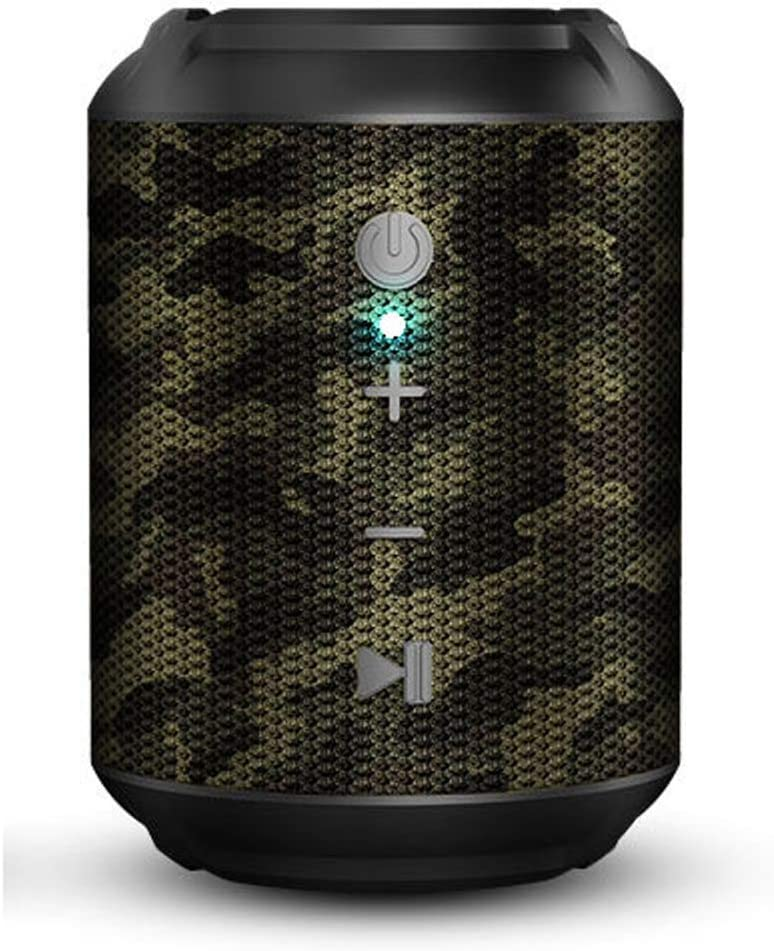 Bluetooth Speakers Waterproof, Shower Music Player Portable Wireless Speaker with Built-in Mic Outdoor Speakers Bluetooth with HD Sound and Bass Wireless Speaker for Shower,Pool,Beach,Party (Green)