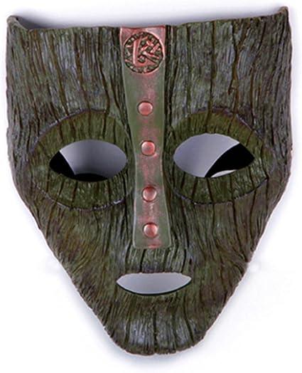 Amazon.com: Gmasking Resina Loki Máscara Cosplay Prop ...