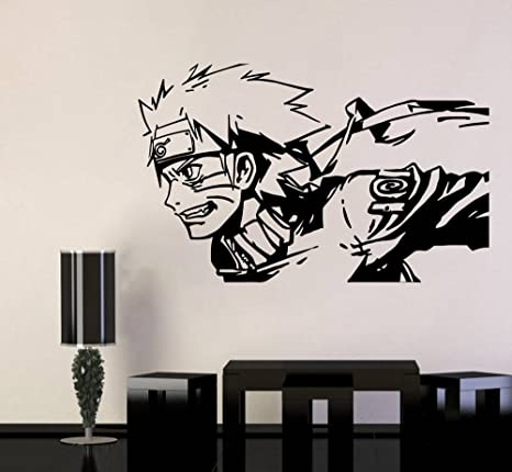 Details about  /3D Naruto Uzumaki Naruto N167 Japan Anime Wall Stickers Vinyl Wall Murals Amy
