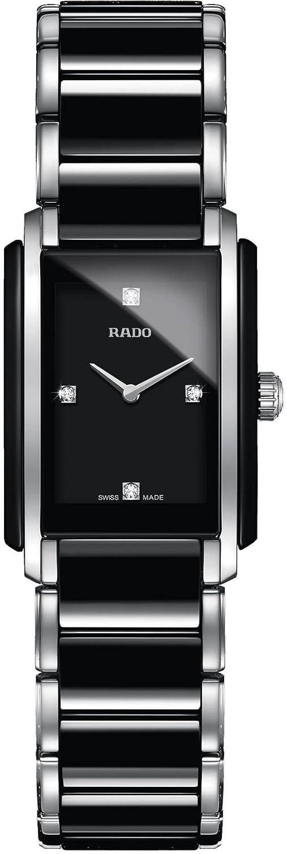 [ラドー]RADO 腕時計 Integral(インテグラル) セラミック 4Pダイヤ R20613712 レディース 【正規輸入品】 B00M0ZPGQ6