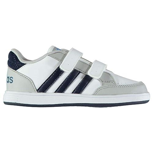 adidas Baby Boys' Shoes White Size: 9.5K: Amazon.co.uk
