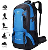 Hiking Backpack 60L, Outdoor Sport Daypack for Backpacking Climbing Mountaineering Cycling Trekking Travel