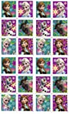 Disneys Frozen Characters Stickers Party Favors