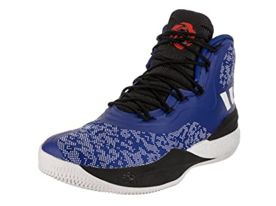 purchase cheap 98edb f082d ... discount code for adidas mens d rose 8 collegiate royal white blue  basketball shoe 11.5 men