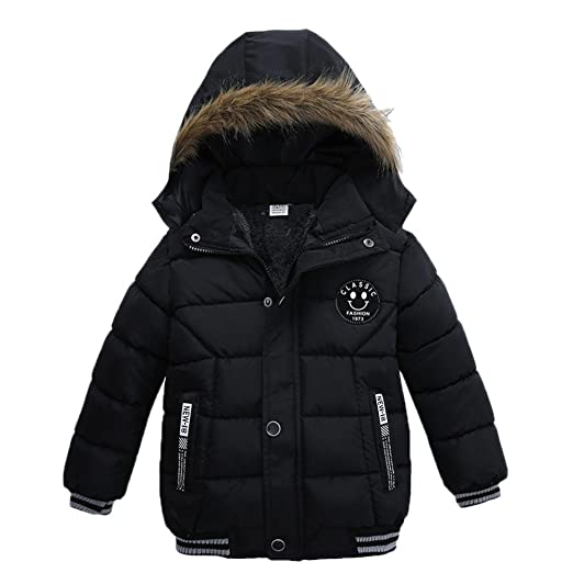 d521541c329 Sunbona Toddler Baby Boys Autumn Winter Down Jacket Coat Warm Padded Thick  Outerwear Clothes