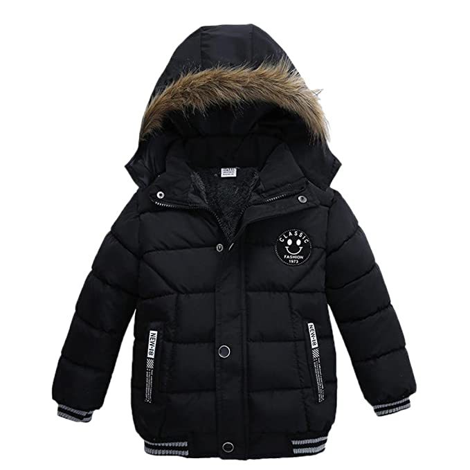 7f10f7250 Sunbona Toddler Baby Boys Autumn Winter Down Jacket Coat Warm Padded Thick  Outerwear Clothes