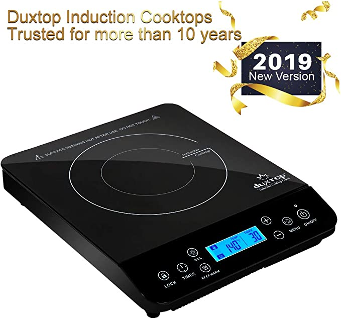 Amazon.com: Duxtop - Placa de inducción (1800 W): Kitchen ...