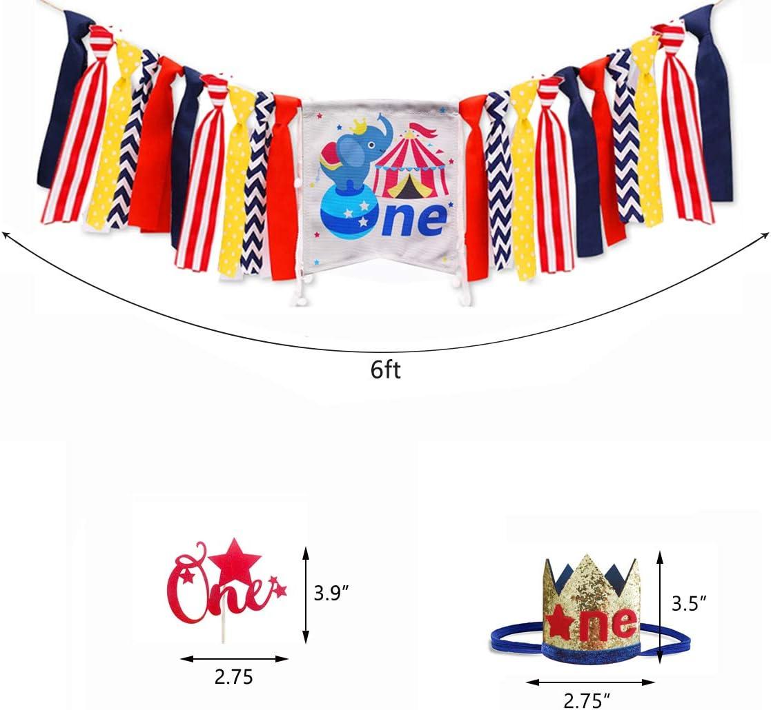 Amazon.com: Decoración de carnaval de circo para primer ...