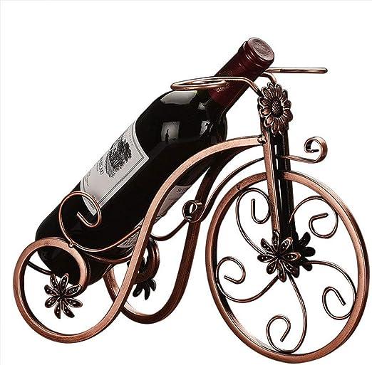 YUEBAOBEI Estante Vino Botella Vino Soporte Bicicleta Creativo ...
