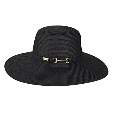 9ae8e0013d7 Betmar Women Selena Floppy Wide Brim Hat Black One Size Fits Most at ...