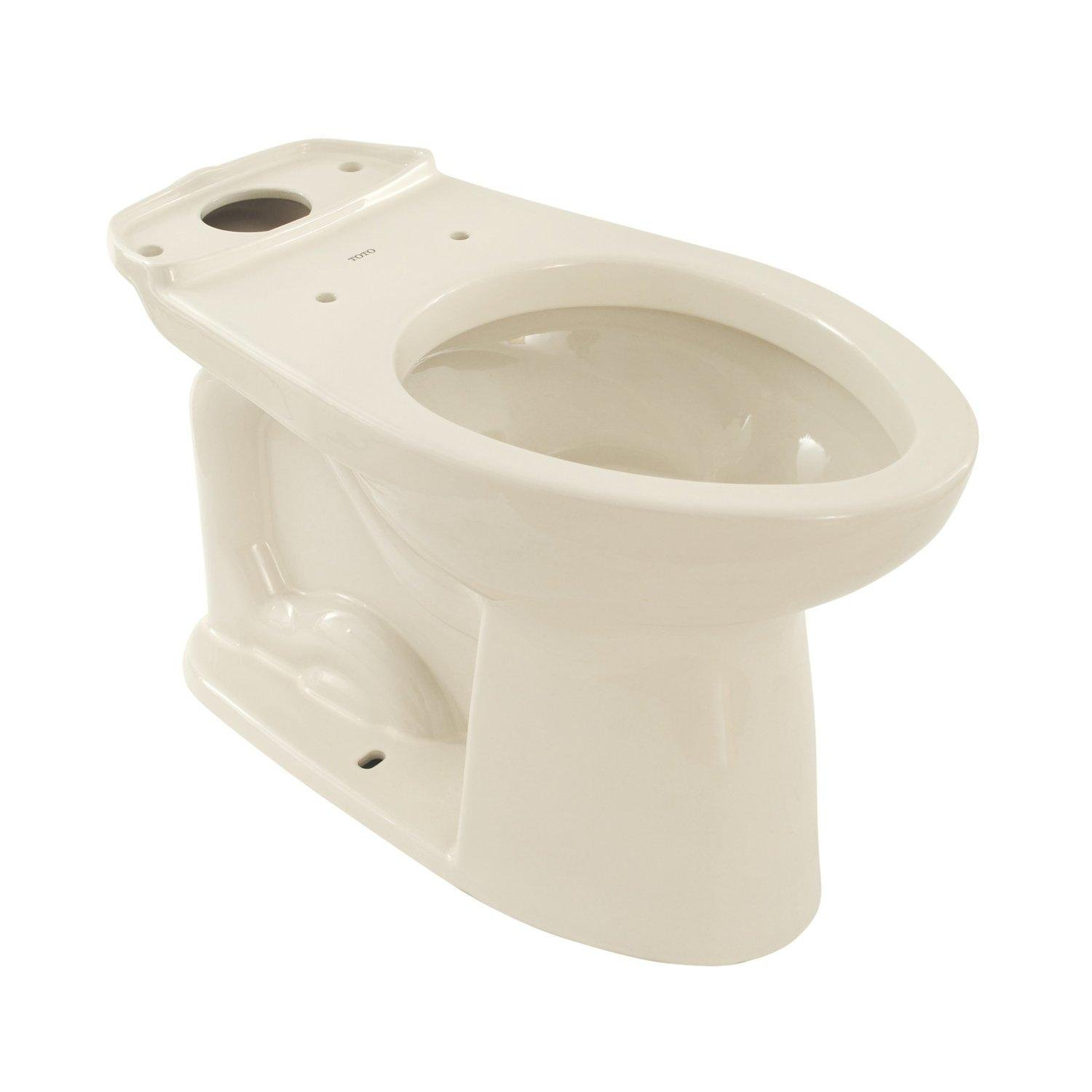 Tremendous Toto C744Sl01 Drake Elongated Toilet Bowl White Ocoug Best Dining Table And Chair Ideas Images Ocougorg