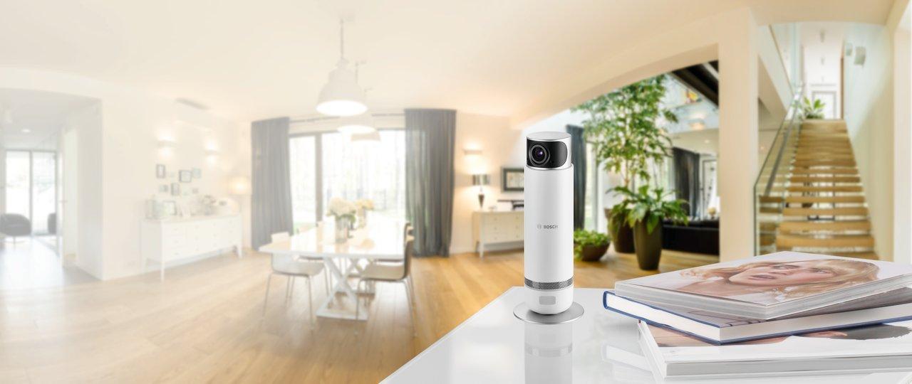 bosch 360 innenkamera f r smarthome 2 wege audio wlan ebay. Black Bedroom Furniture Sets. Home Design Ideas