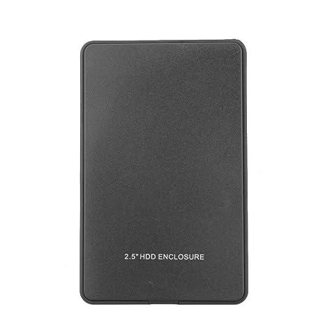 """Docooler USB 2.0 Portátil Móvil HDD Externo Disco Duro Disco Caso 2.5"""" para Escritorio y"""