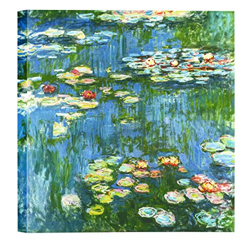 Eliteart-Water Lilies(B) by Claude Monet Oil Painting Reproduction Giclee Wall Art Canvas Prints by Elite Art