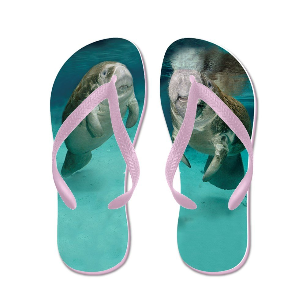 21bf6219d792 Cafepress mother and baby manatee flip flops funny thong sandals beach sandals  flip flops jpg 1000x1000