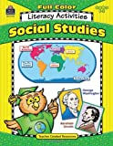 Full-Color Social Studies Literacy Activities, Lorin Klistoff, 0743931726