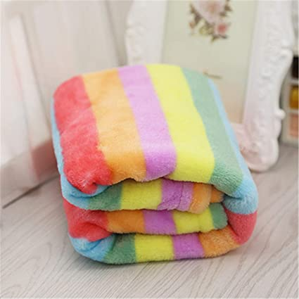 Frideing Dog Blanket Pet Mats Winter Puppy Bed Warm Puppy Bath Towel Cat Sleeping Sofa Cushion