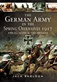 The German Army in the Spring Offensives 1917: Arras, Aisne and Champagne