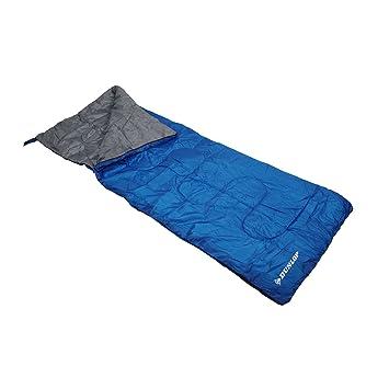 Dunlop Uni Saco de dormir, azul, 190 x 75: Amazon.es: Deportes y aire libre