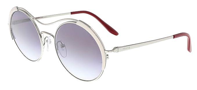 Prada 0PR 55VS Gafas de sol, Silver/Ivory, 53 para Mujer ...