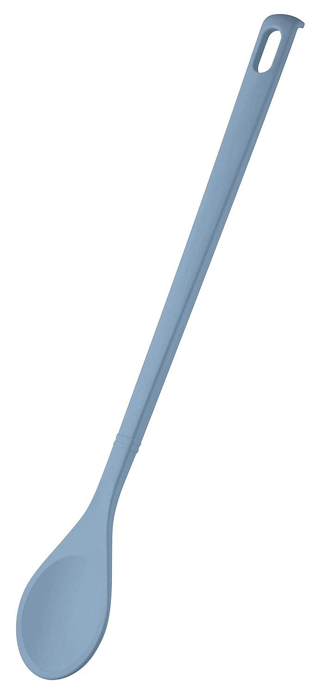 ZENKER 27187 Kochl/öffel rund Candy Menge: 1 St/ück Farbe: Eisblau R/ührl/öffel f/ür beschichtete T/öpfe und Pfannen