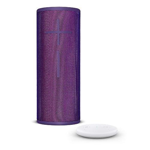 Amazon Echo Input blanco Altavoz inalámbrico Bluetooth Ultimate Ears MEGABOOM 3 púrpura