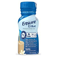 Ensure Enlive Meal Replacement Shake, 20g Protein, 350 Calories, Advanced Nutrition...