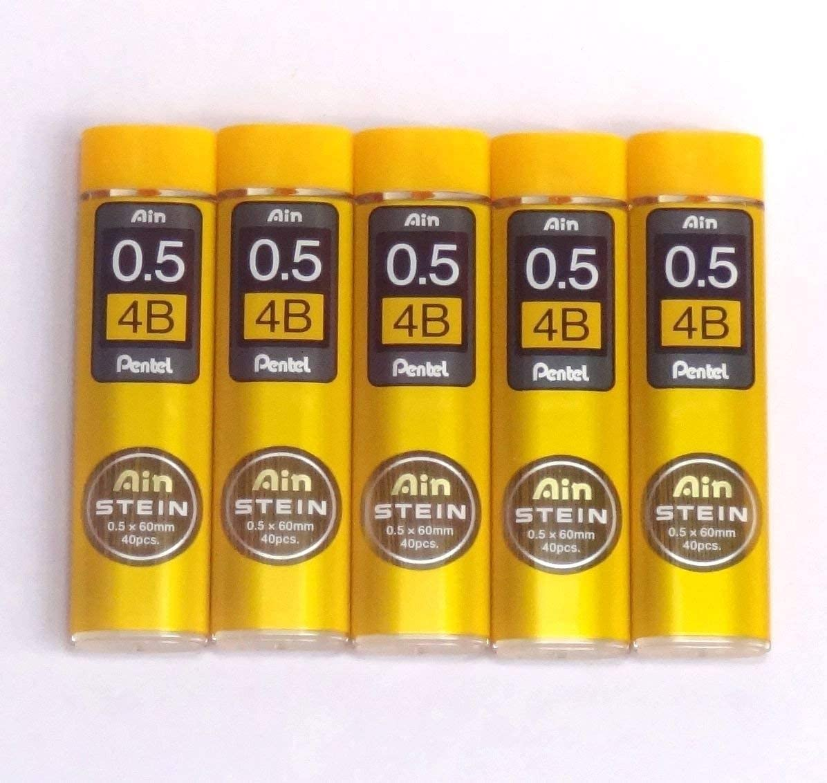 Pentel Ain Stein C275-4B 0.5mm Refill Leads 5tubes