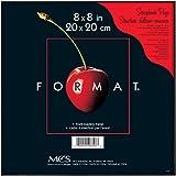 MCS 8x8 Inch Format Frame, Black (47357)