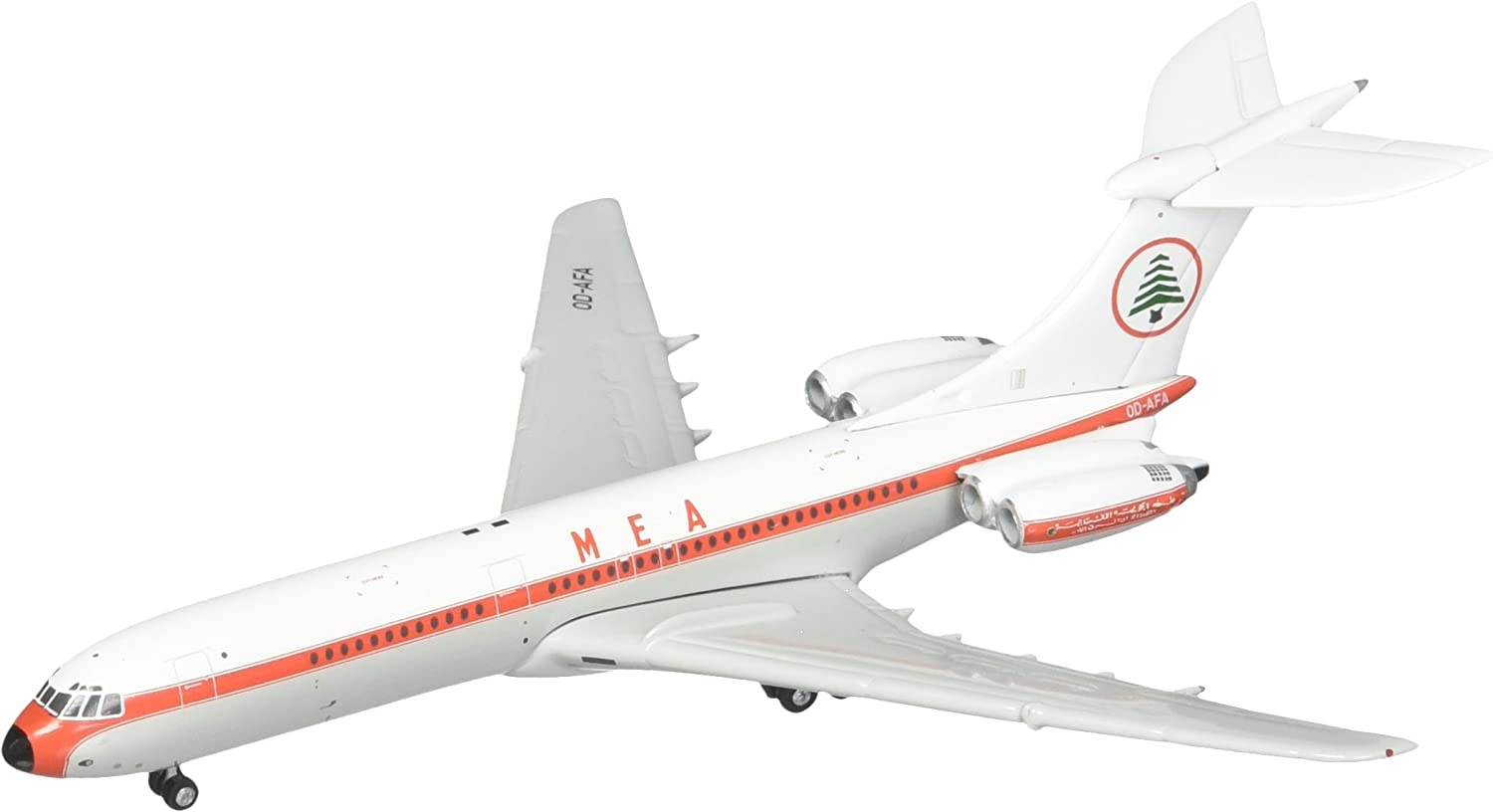 Gemini Jets Middle East Airlines VC-10 Standard 1:400 Scale MEA