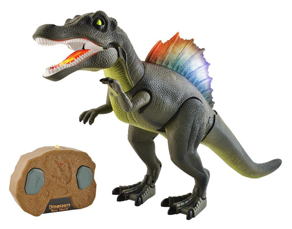 Interaktives Dinosaurier funkferngesteuert Gerä usche Licht Fernbedienung #5958 Iso Trade