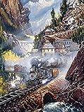 Ceaco Blaylock - Silver Bell Run Puzzle (750 Piece)