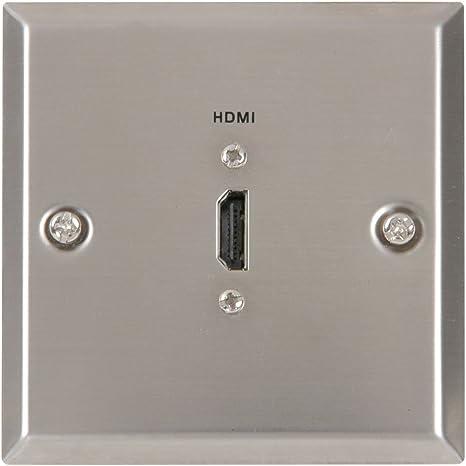 Avlink HDMI Placa de Pared de Acero: Amazon.es: Electrónica