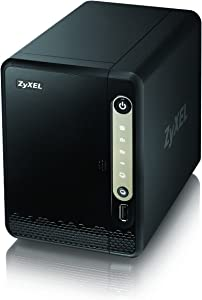 Zyxel Personal Cloud Storage [2-Bay Disk-Less] for Home with Remote Access and Media Streaming [NAS326]