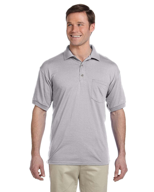 Gildan Men's DryBlend Jersey Polo with Pocket