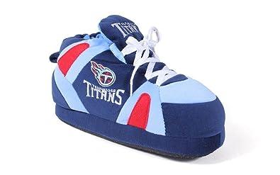 f73f72ea TTI01-2 - Tennessee Titans - Medium - Happy Feet & Comfy Feet NFL Slippers