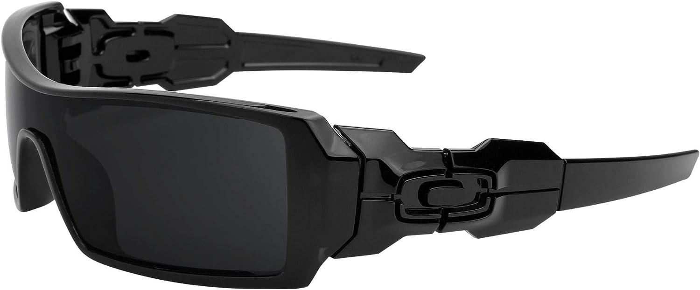 Revant Verres de Rechange pour Oakley Oil Rig - Compatibles avec les Lunettes de Soleil Oakley Oil Rig Cristallin - Non Polarisés