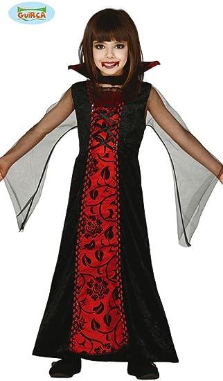 Guirca 83157 - Condesa Vampira Infantil Talla 10-12 Años: Amazon ...