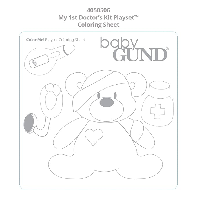 Amazon Gund My First Doctors Kit Baby Playset Toys Games