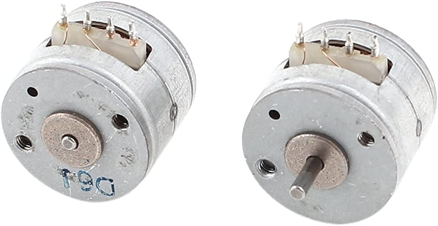5pcs New two-phase four-wire 15MM stepper motor
