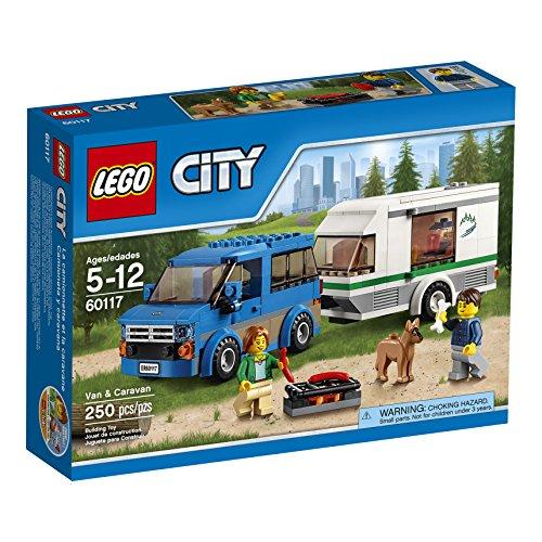 LEGO CITY Van & Caravan 60117