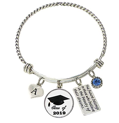 4254ee9d9 Amazon.com: Sports Accessory Store Bracelet Custom Class of 2019 ...