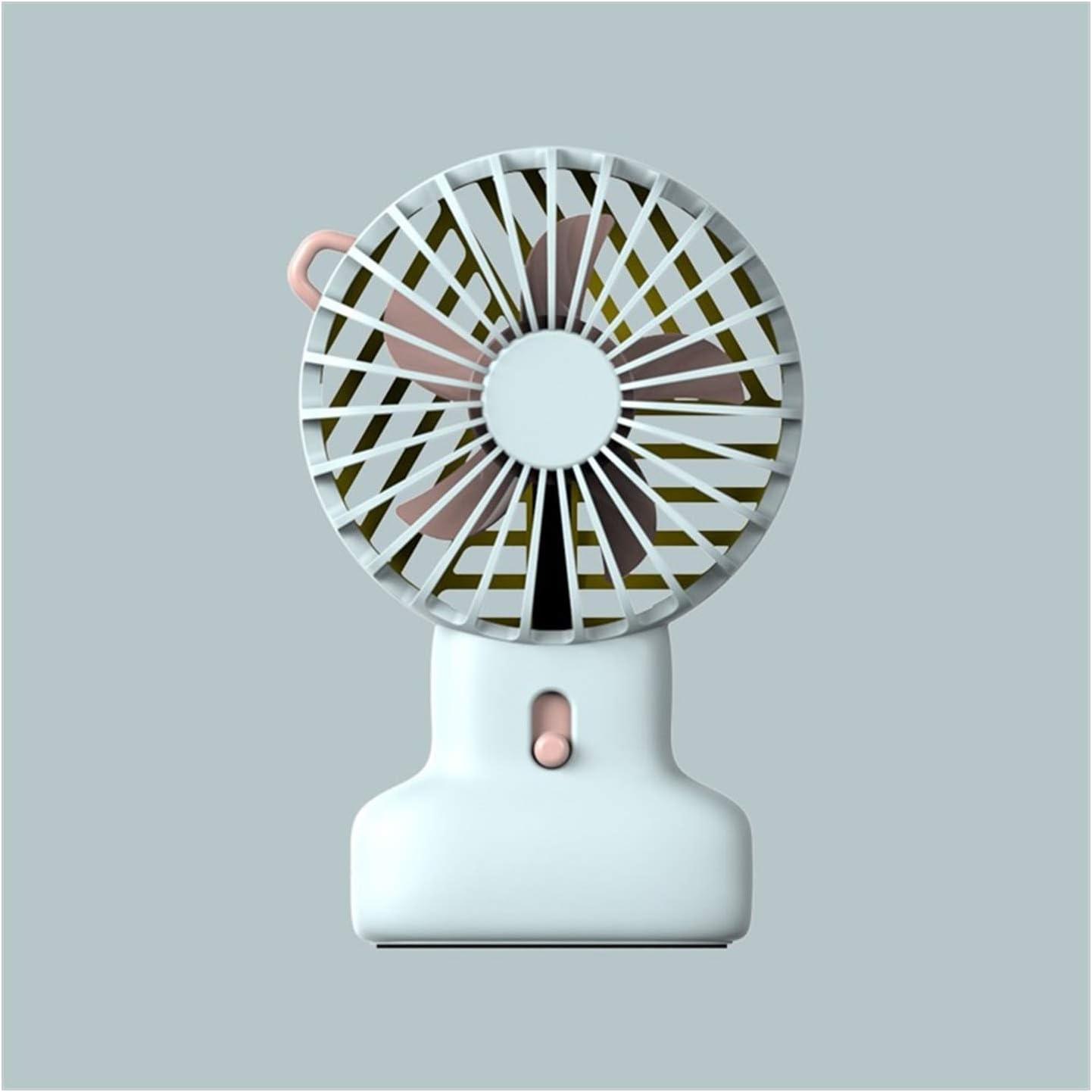 XIAOF-FEN Mini Portable Round Fan USB Handheld Portable Electric Fan Outdoor Cooling Fans USB Fan Color : 05