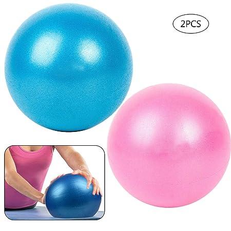 UOWAN 2 pelotas de ejercicio, 25 cm, pelota de gimnasio suave ...